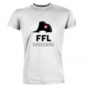 t shirt fédération francaise de la lose