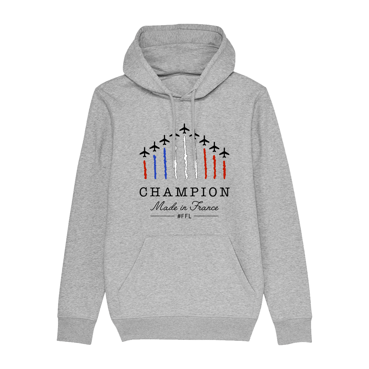 Hoodie FFL Champions made in France